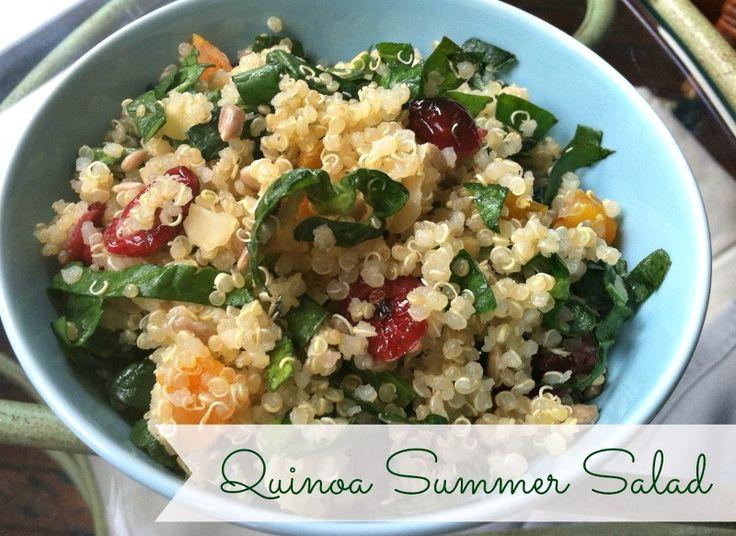 Quinoa Summer Salad | Healthy Food | Pinterest