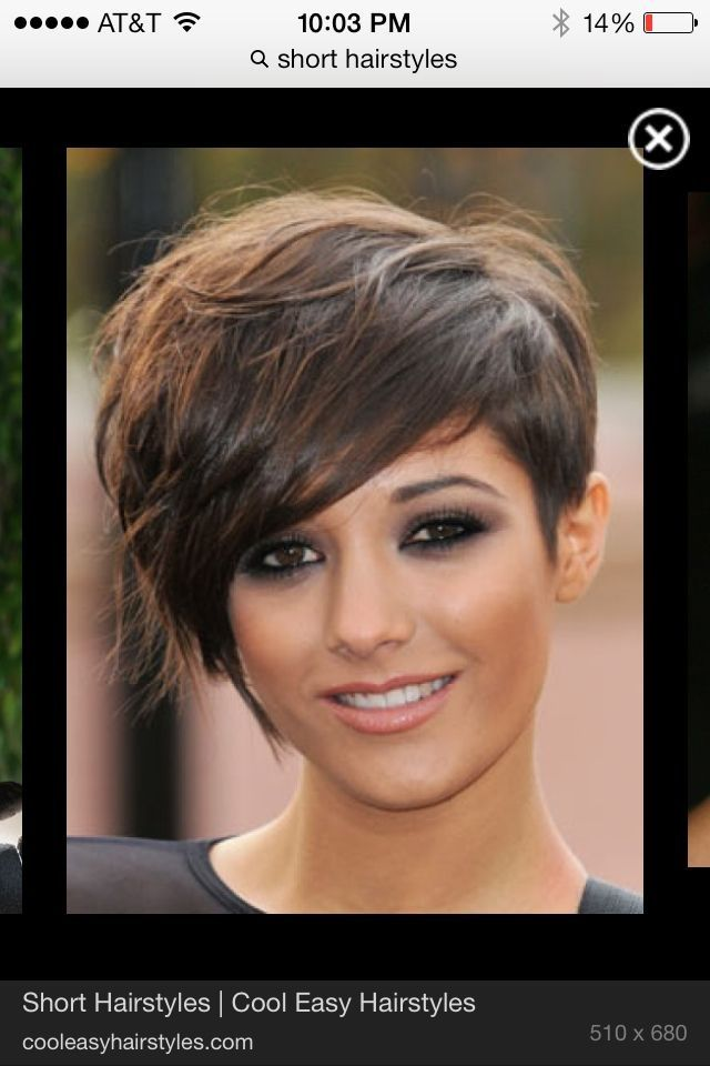 Short Hairstyles On Pinterest