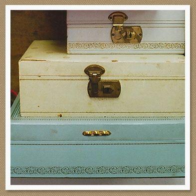 vintage jewelry boxes