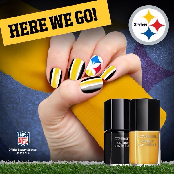 29 fabulous Steelers Nail Art – slybury.com