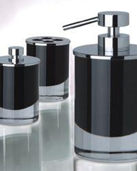 Zodiac black glass bathroom accessories sea glass for Zodiac bathroom accessories