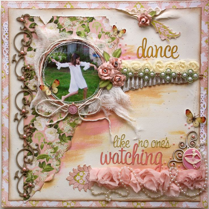 Dance Like No One's Watching **NEW Webster's Pages 'New Beginnings'** - Scrapbook.com