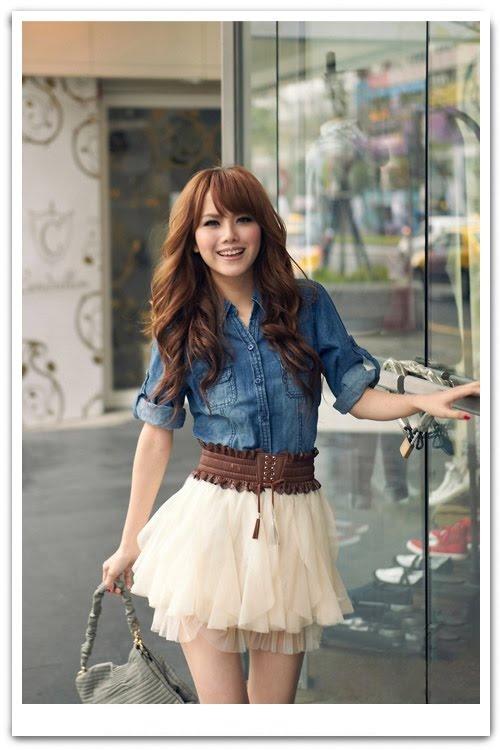 short smooth skirt