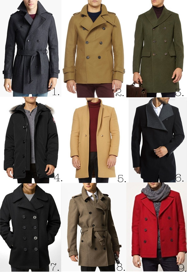 The Londoner: Men's Autumn Style Notes...again yes male coats and no i really dont care...GORGEOUS!