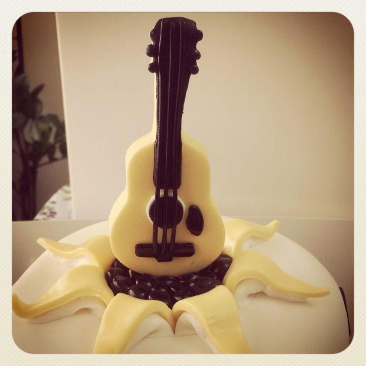 Guitar Cake Topper Rock On Guitar Cake Food Decorating