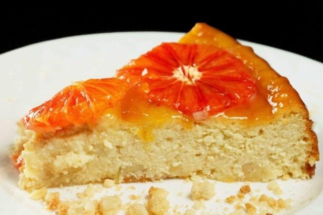 Blood Orange Ricotta Cheesecake | Guilty Pleasure Foods | Pinterest