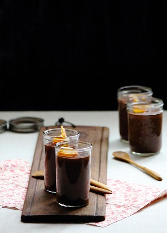 Dark Chocolate Orange Pudding Recipe — Dishmaps