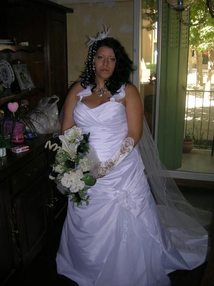 Robe de mariée doccasion taille 48/50  Robes de mariée et articles ...