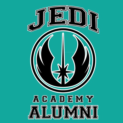 Jedi Academy Tee shirt from Teenerd