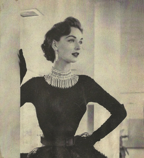 1950 39 S Glamour Fashion History Pinterest