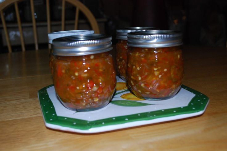Hot Pepper Relish | Canning :) | Pinterest