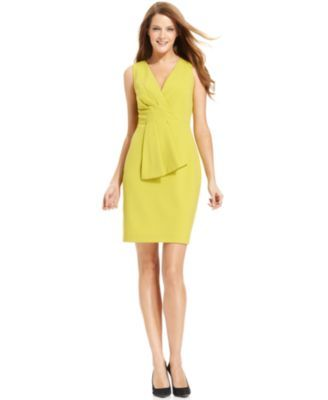 Galerry sheath dress colorblock