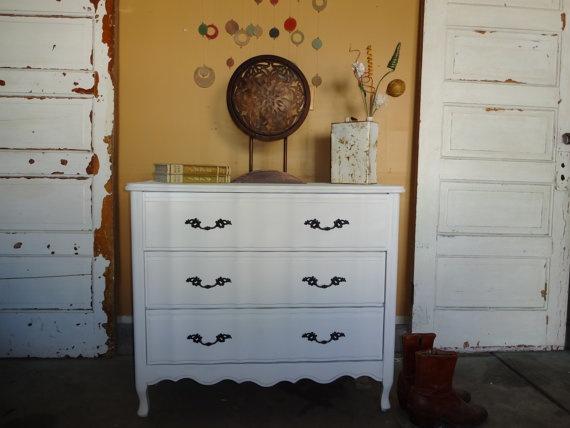 White.   Painted Furniture Ideas   Pinterest