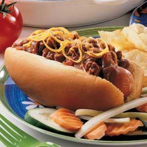 Chili Dog Sauce Yum :)