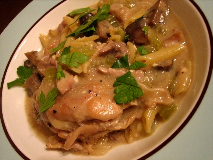 with chicken thighs penne with chicken thighs the pioneer woman creamy ...