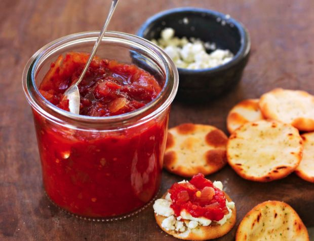 heirloom tomato chutney | food | Pinterest