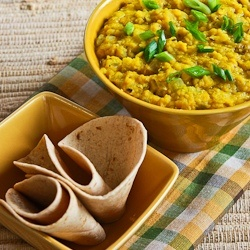 ... : Recipe for Indian-Style Red Lentils with Ginger (Red Lentil Dal