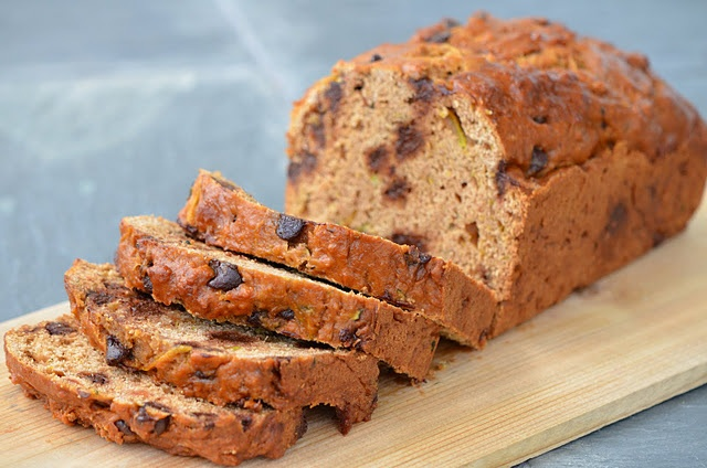 Heart Healthy Low-Fat Chocolate Chip Zucchini Bread