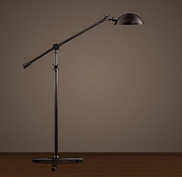 restoration hardware floor lamp for the home pinterest. Black Bedroom Furniture Sets. Home Design Ideas