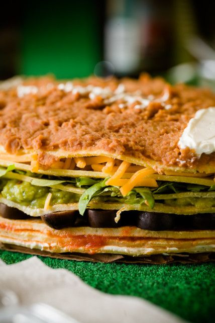 Super Bowl Seven Layer Dip As You Have Never Seen It Before