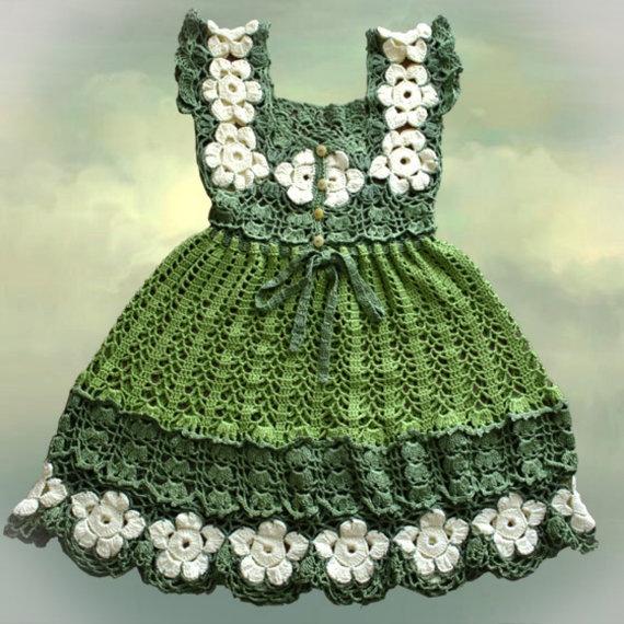 Etsy Crochet Patterns : Crochet dress by Illiana on Etsy, $98.00 Patterns. Pinterest