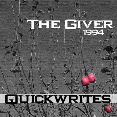 persuasive essay the giver