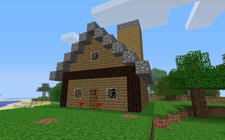 Minecraft House Micah Co Pinterest
