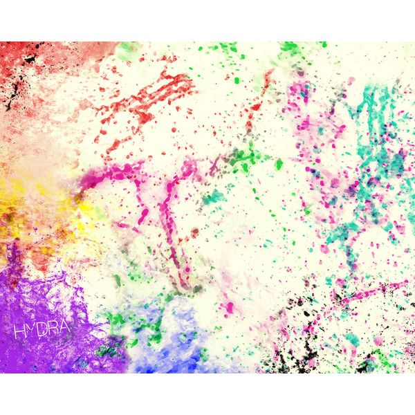 Color Splatter BG liked on Polyvore | Style | Pinterest