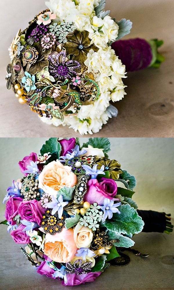 Wedding Brooch Bouquet Nz : Diy brooch bouquet wedding bouquets flowers