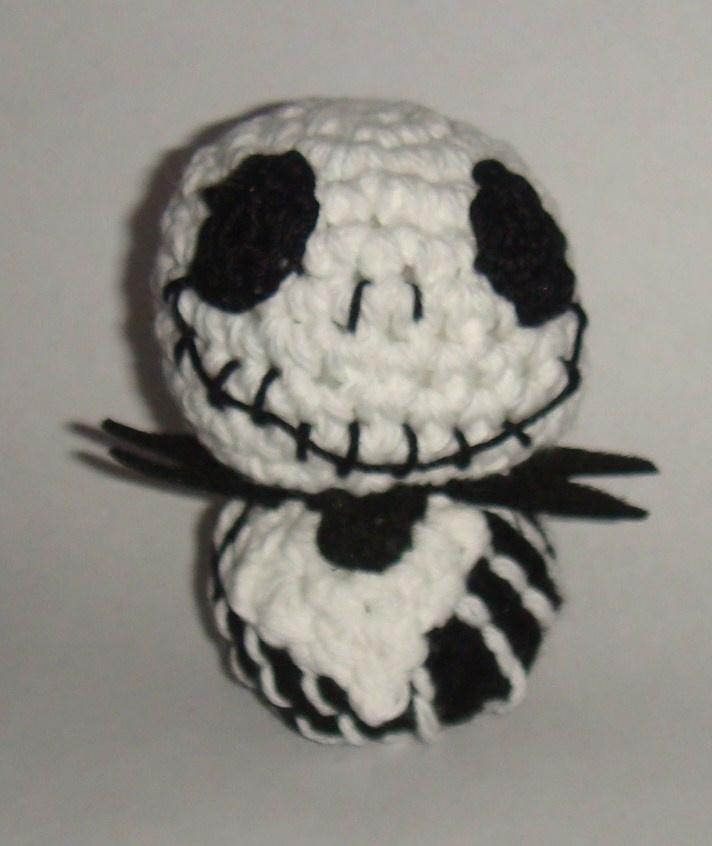 Crochet Jack Skellington : Amigurumi Jack Skellington amigurumi Pinterest