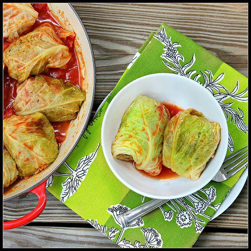 Italian stuffed cabbage | Italian noms | Pinterest