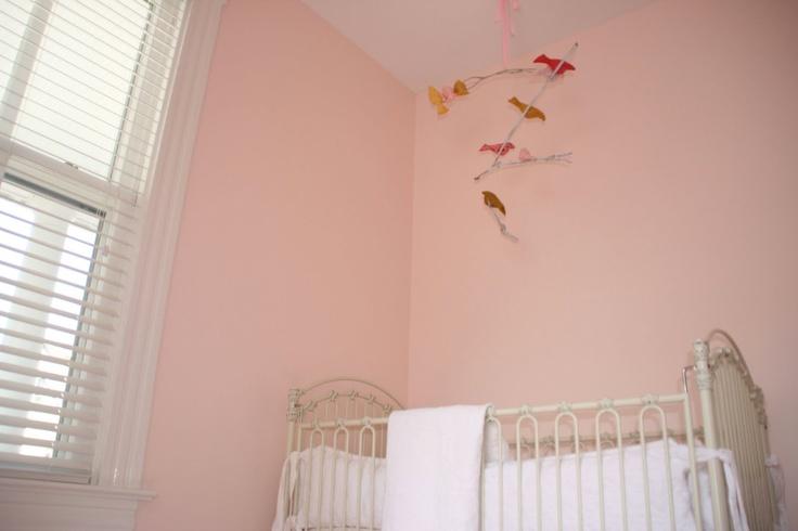 Paint color ben moore pink cloud paintchips pinterest - Best soft pink paint color ...