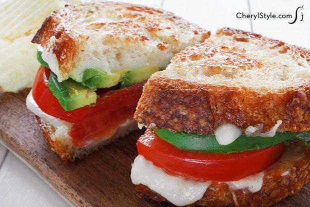 Avocado #grilledcheese sandwich – @CherylStyle #comfortfood # ...