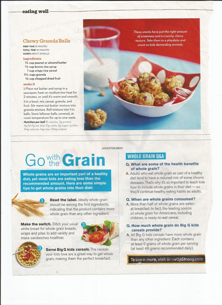 Chewy Granola Balls - just be wise in your ingredient brand choices to ...