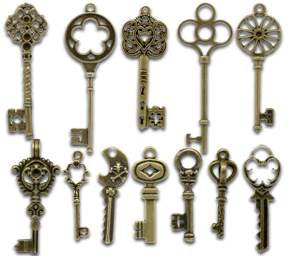 vintage keys so cool gotta have this pinterest
