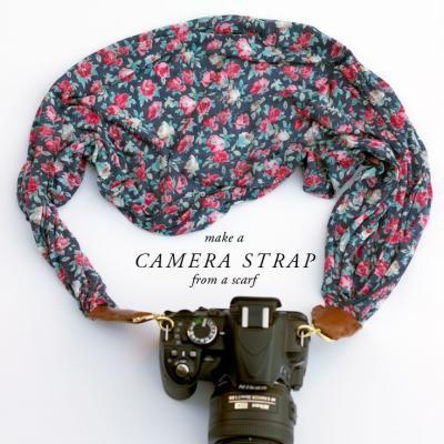 Scarf Camera Strap Tutorial {Camera Accessories}