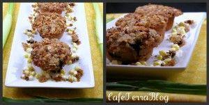 Blueberry Sweet Corn Muffins | Bread, muffin, cracker... | Pinterest