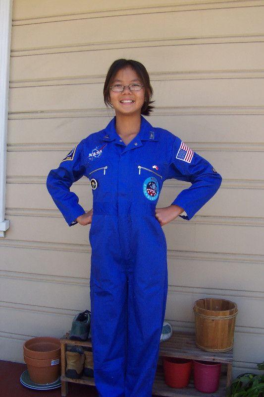 nasa jumpsuit blue -#main