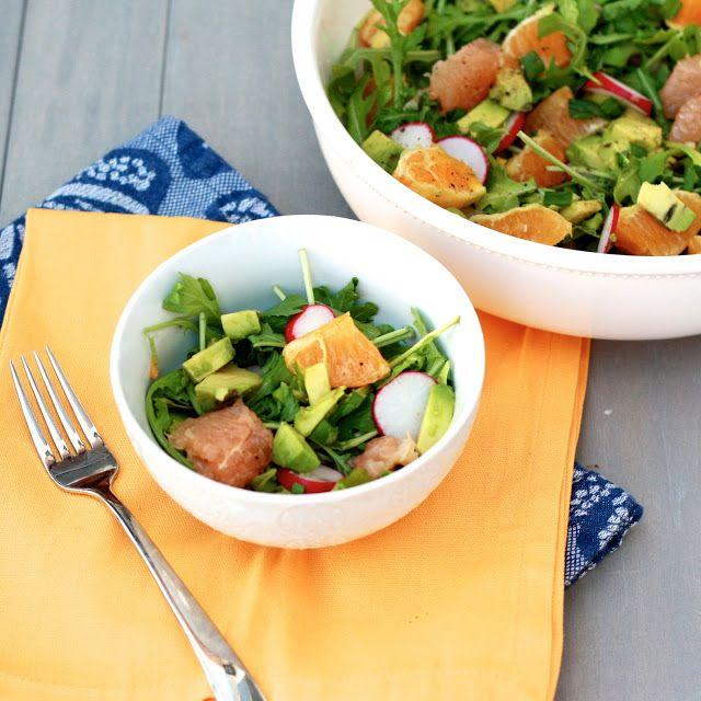 Avocado Citrus Salad   Deliciosas Frutas & Verduras!   Pinterest