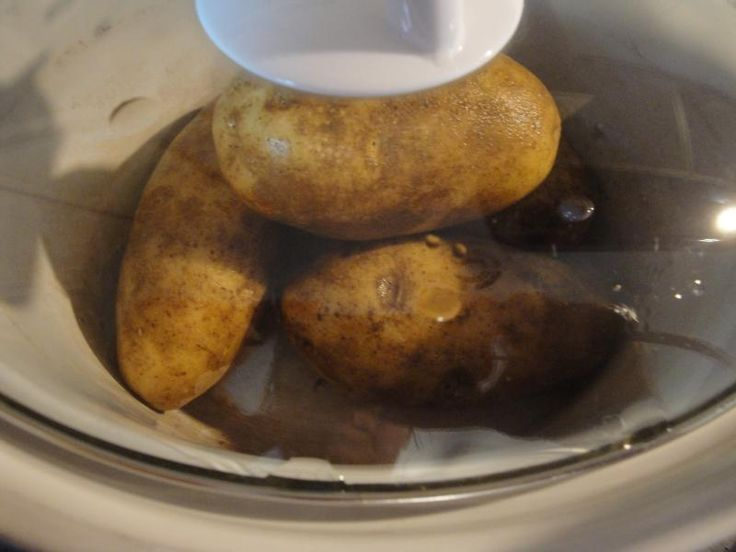 Baked Potatoes in the Slow Cooker | slow cooker recipes | Pinterest