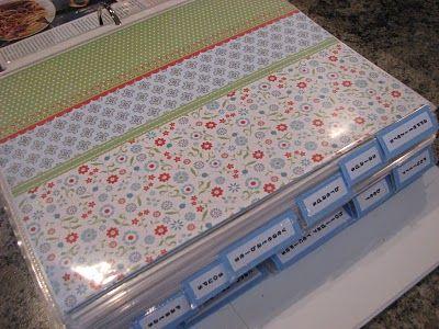 Recipe Notebook <3 <3 <3!!