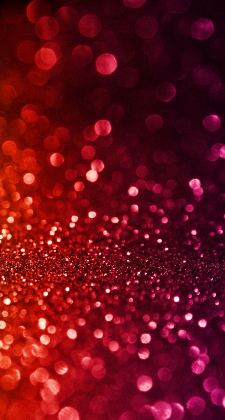 Red glitter | Wallpapers | Pinterest