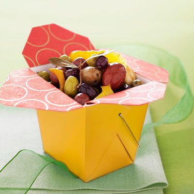 Citrus-Marinated Olives - Holiday Gifts - Recipes - Good Housekeeping