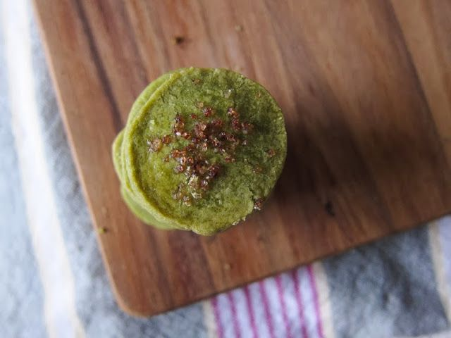 Matcha Green Tea Shortbread | Freshly Baked - Cookies/Biscuits | Pint ...