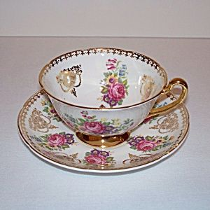 Royal Grafton Golden Heritage Tea Cup and Saucer. Click on the image for more information.