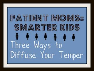 New Research Shows that Kids With Patient Moms Have Larger Hippocampus (Area of the Brain).  But What is a Mom to Do if the Kids Constantly Fight and Whine?  Child expert gives ideas on keeping your cool... I will most definitely need to know this!!