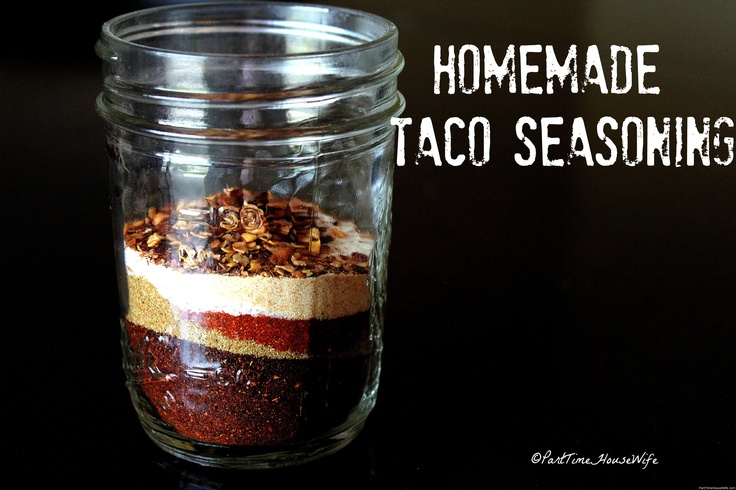 Home Made Taco Seasoning $$$ Saver! | you can do it | Pinterest