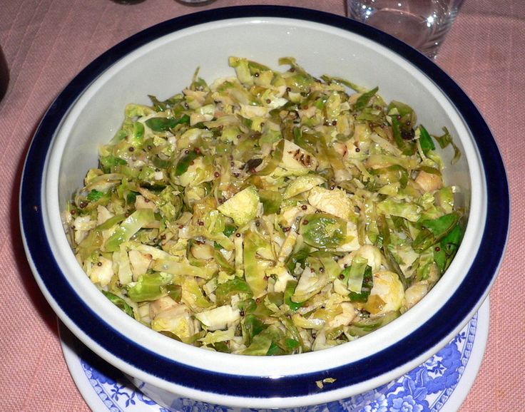 ... Meyer's Hashed Brussels Sprouts with Lemon Zest - The Wednesday Chef