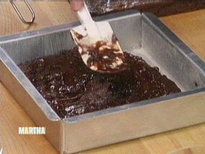 Deep, Dark Brownies, Recipe from The Martha Stewart Show, February ...