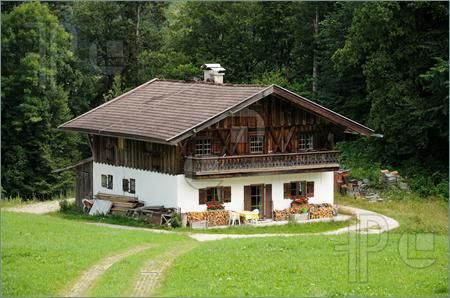 Alpine Style House Germany Tyrolean Style Swiss